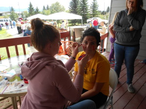 Harvest Festival Fun 2015 Face painting